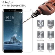 10 Pcs/Lot 2.5D 0.26mm 9H Premium Tempered Glass For Doogee X60L Screen Protector Toughened protective film