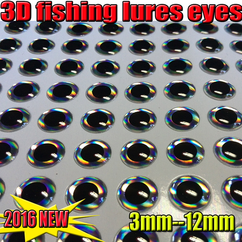 pesca fly eyes 3-12mm iscas artificiais 2016 isca artificial 3d(China)