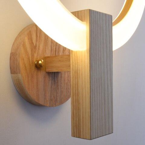 luminarias corredor escadas lampadas parede