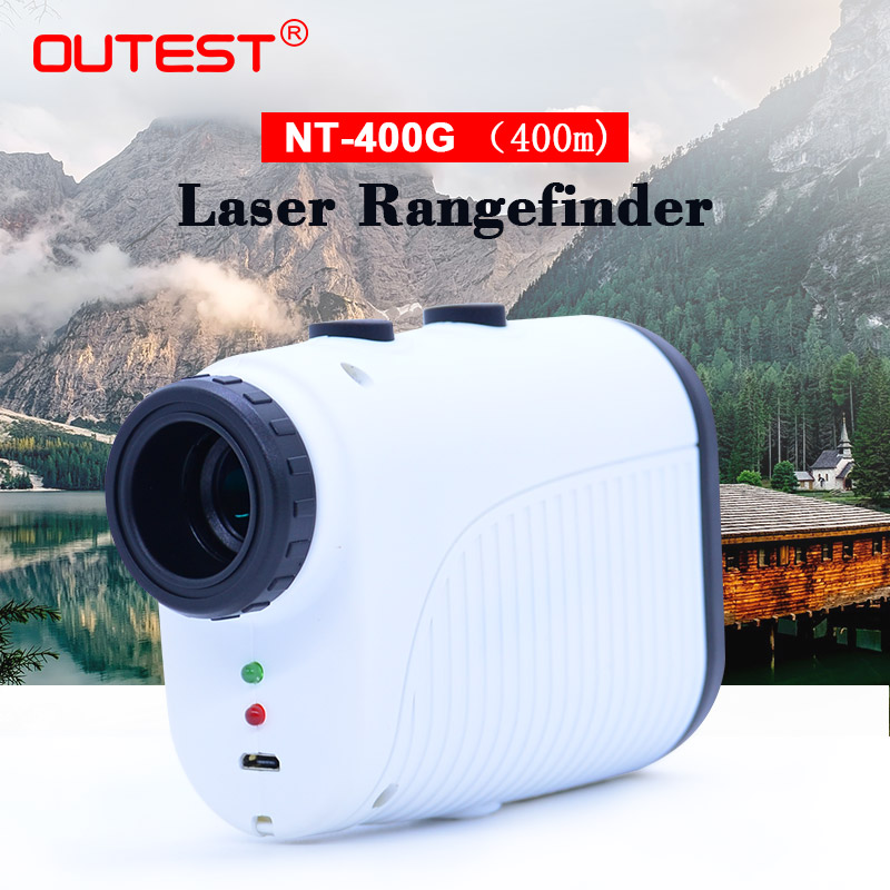 Laser rangefinder Hunting 400m 7XMagnification Telescope Laser Distance Meter Golf Digital Monocular Range Finder Ruler tool