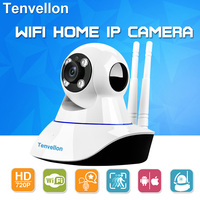 720P Network CCTV WIFI IP Camera Megapixel Wireless Security Camera Wifi Baby Monitor Infrared Night Vision