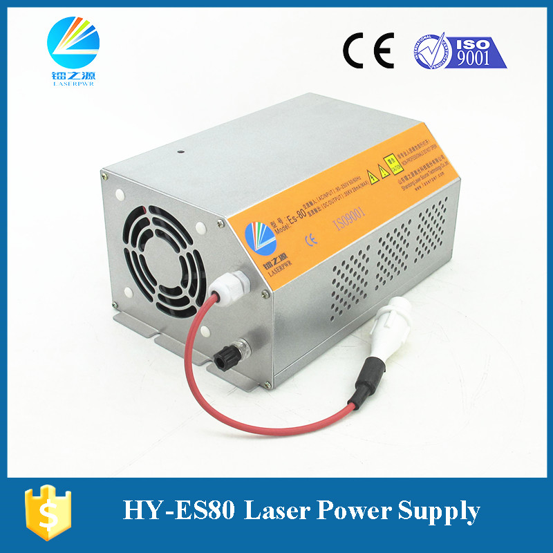 Cloth Co2 Laser Cutter Laser Power Supply Hy-t60 Factory Hongyuan Hair Extensions & Wigs