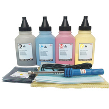Toner Refill Powder Chip for HP Color Laserjet 124a Q6000a 1600 2600 2600n 2605 2605dn 2605dtn