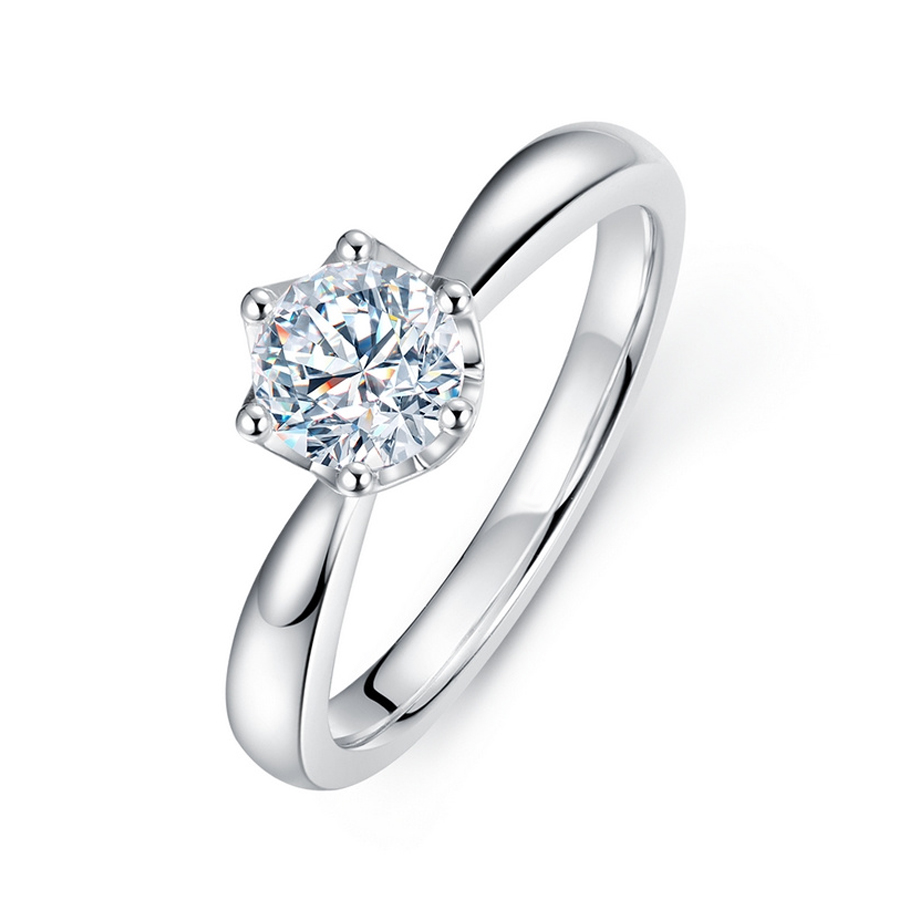 14k Yellow Gold 1.0 Ct Diamond Engagement//Wedding Ring Solitaire Round Cut