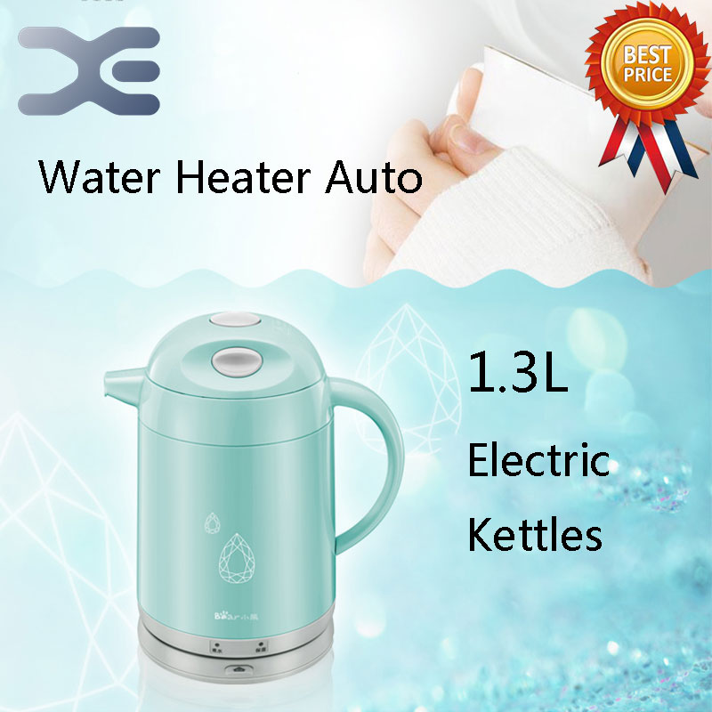 High Quality 1.3L Water Heater Kettle Electric Kettle Automatic Power Off Water Heater Kettle Chaleira high quality fire resistant plastic parts electric kettle cover mold