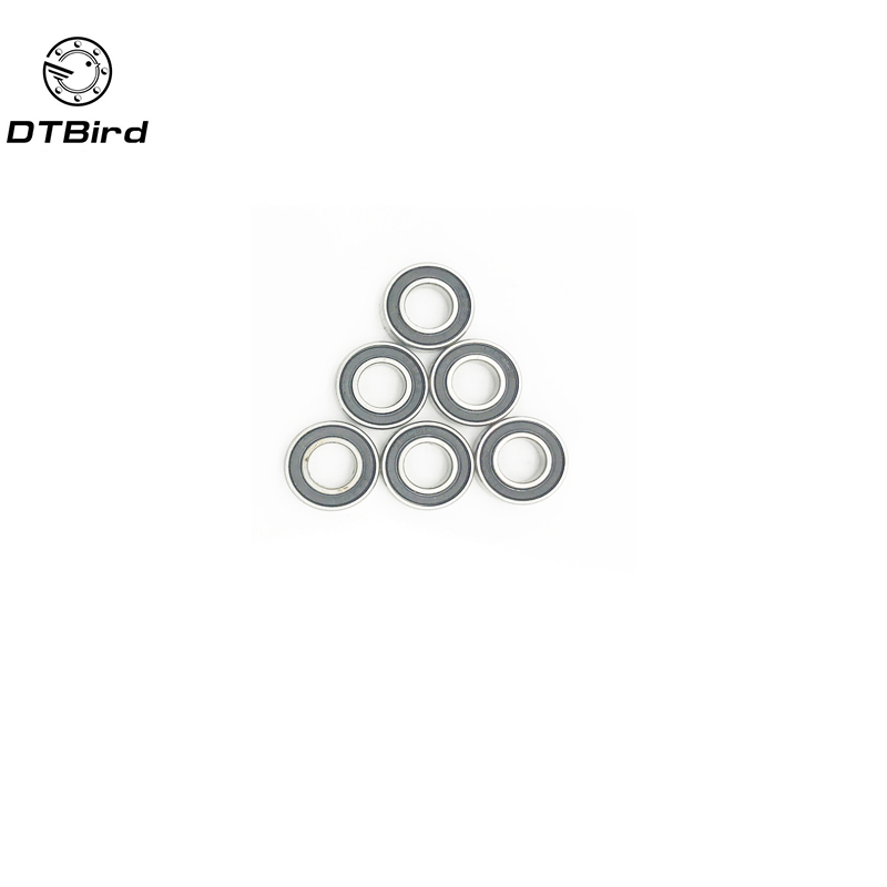 10pcs <font><b>688</b></font>-2RS 8*16*5 mm ABEC-1 <font><b>688</b></font> <font><b>rs</b></font> 688rs The Rubber sealing cove Thin wall deep groove ball bearings 688RS image