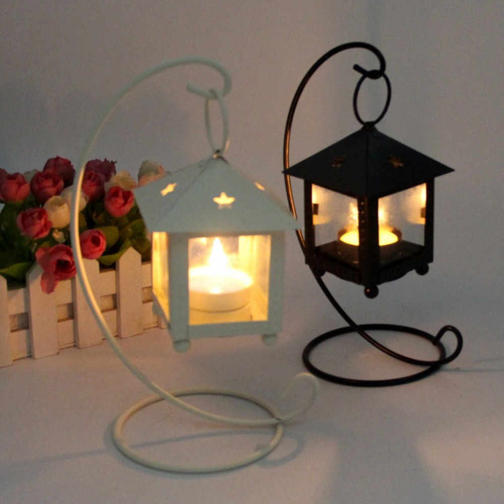 22 styles hanging candle holder Retro Iron Moroccan Candlestick Lamp Candleholder Light candle holders for home decor F300315