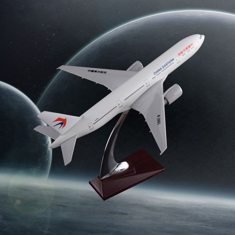 32cm Resin Aircraft Model Boeing 777 China Eastern Airlines Airplane Model B777 Airbus Airways Eastern Stand Craft Model eastern livestock 5ml