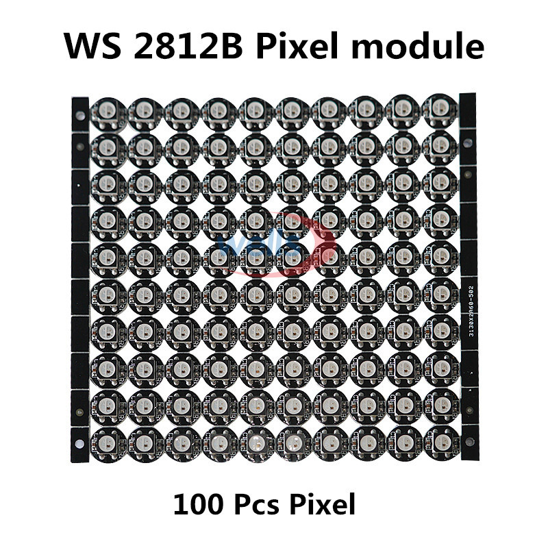 50 ~ 1000 4-Pin WS2812B WS2812 LED Chip & Heatsink 5 V 5050 RGB WS2811 IC Ingebouwde