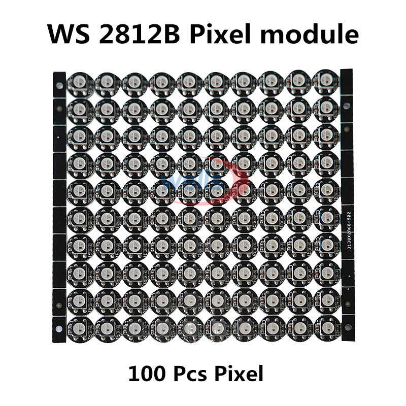 10 ~ 1000 4 Broches WS2812B WS2812 puce LED et Dissipateur Thermique 5 V 5050 RVB WS2811 IC Ingebouwde