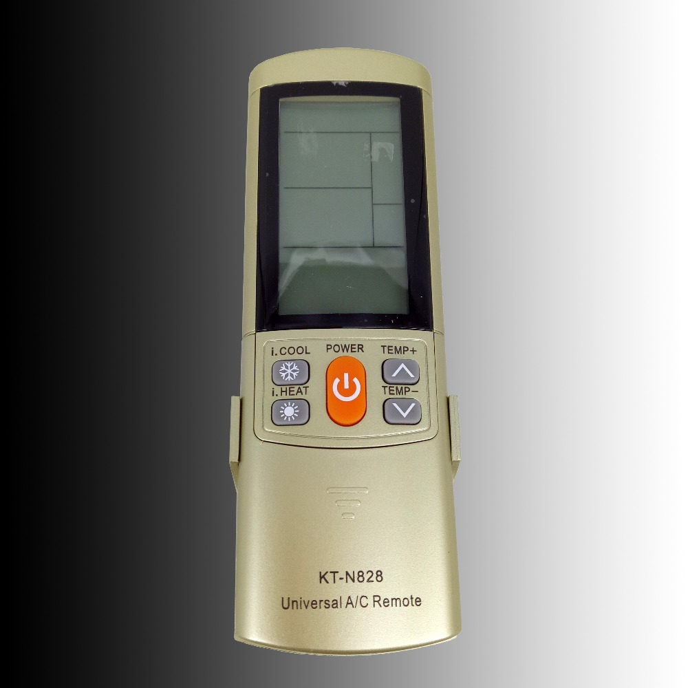 Galleria fotografica New Universal Air Conditioner di controllo Remoto Per Sanyo SAMSUNG <font><b>Toshiba</b></font> LG York AC Remote KT-N828 A/C Con Il Basamento 2000 In 1 LCD
