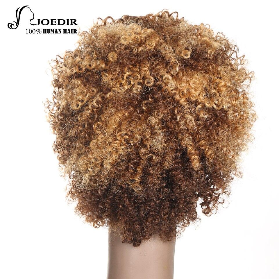 Joedir Parycken Pixie Curly Hair Mänskliga Hårperor Brazilian Remy% - Skönhet och hälsa - Foto 4