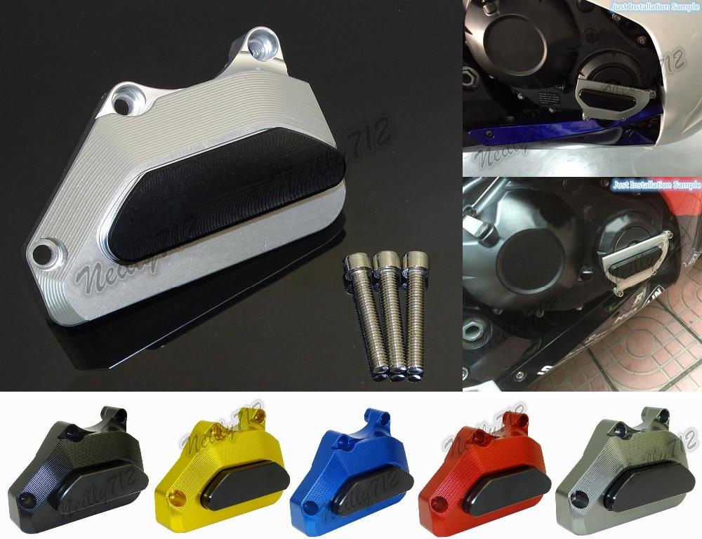 waase Right Engine Crash Pads Frame Sliders Protector For Honda CBR600RR CBR 600 RR F5 PC37 2003 2004 2005 2006