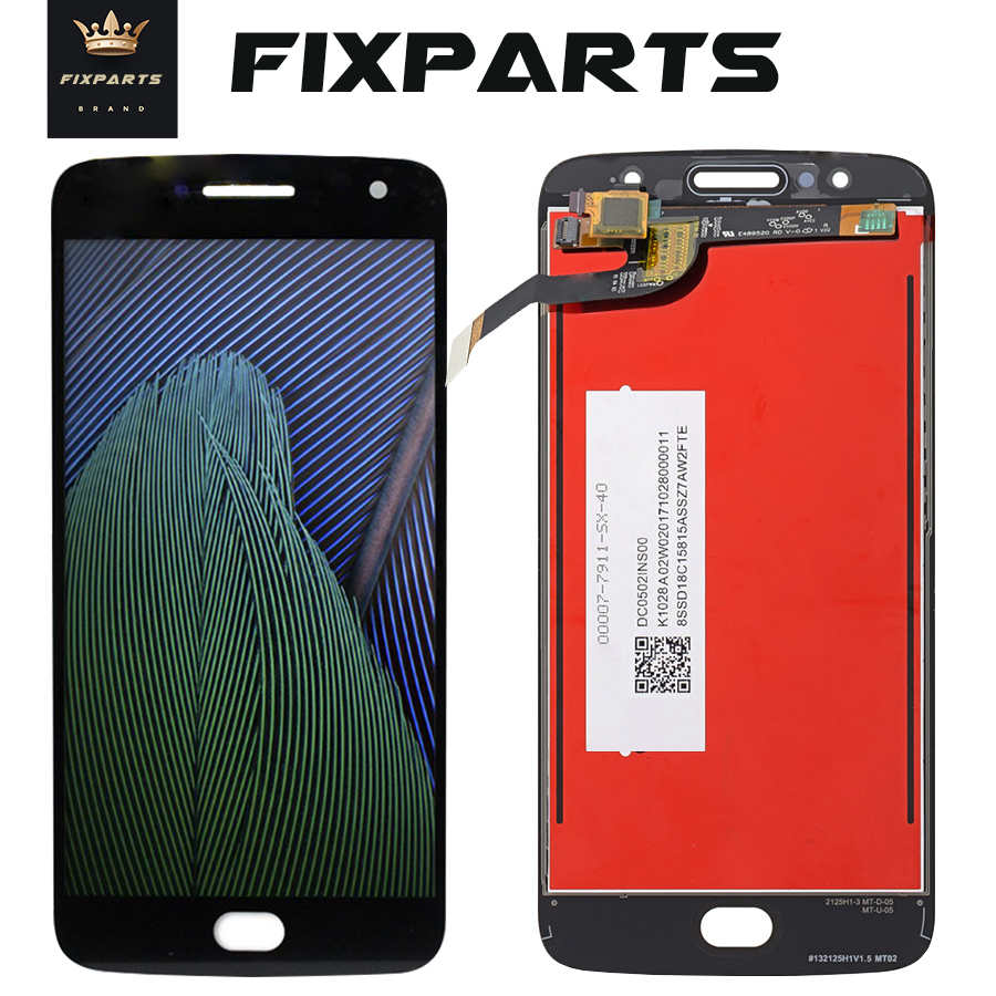 "ORIGINAL 5.2"" 1920x1080 LCD For Motorola Moto G5S Display XT1794 LCD Touch Screen Digitizer G5S Plus LCD Replacement XT1805 LCD"