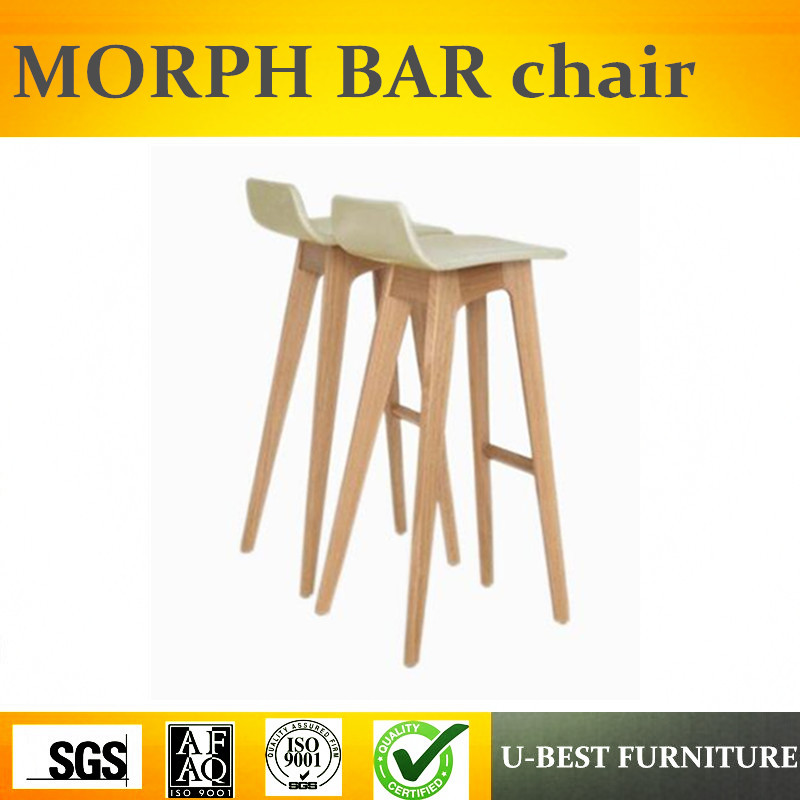 Free Shipping U-BEST Professional Design Home Center Cheap Kitchen Modern Bar Stool,designer Morph Bar Stool