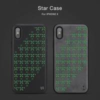 Nillkin Phone Bag Case For Iphone X Frosted Hard Plastic Back Cover Screen Protector For Iphone