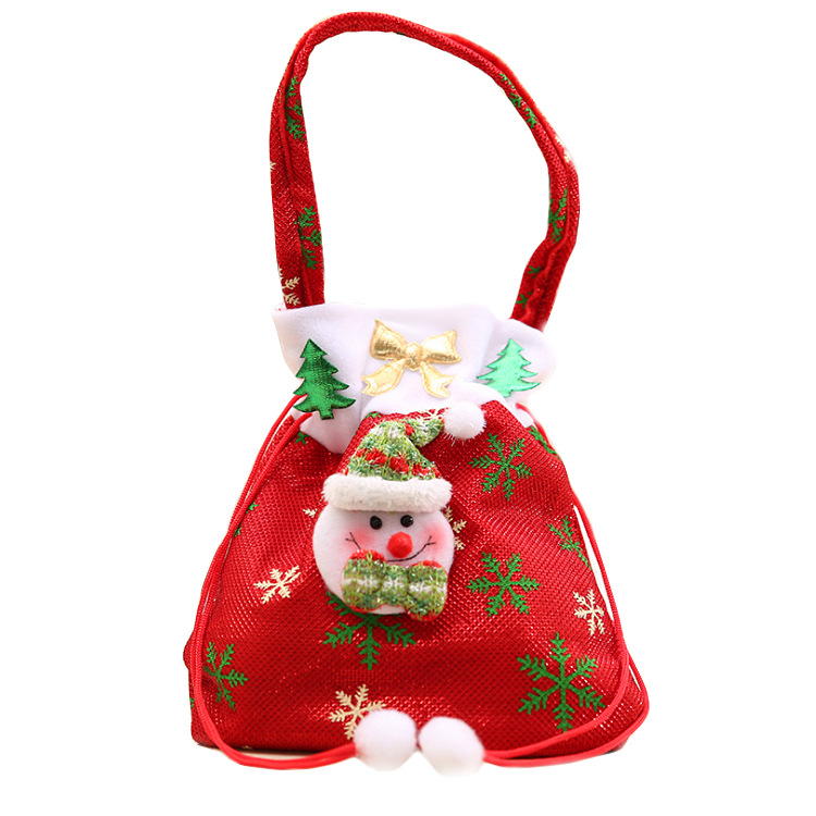 Canvas Christmas Gift Candy Bags Drawstring Favor Package Bulk Set Of Multi Style Neon Colored Goo In Stockings Holders
