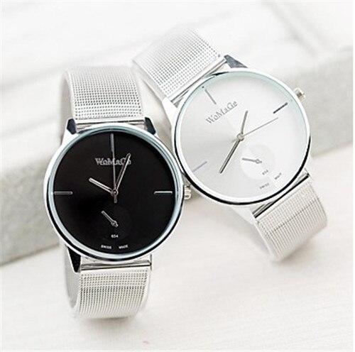 WoMaGe Women Watches Top Brand Watch Woman Luxury Watch Ladies Watches Lover's Clock Fashion Black White montre femme saat reloj