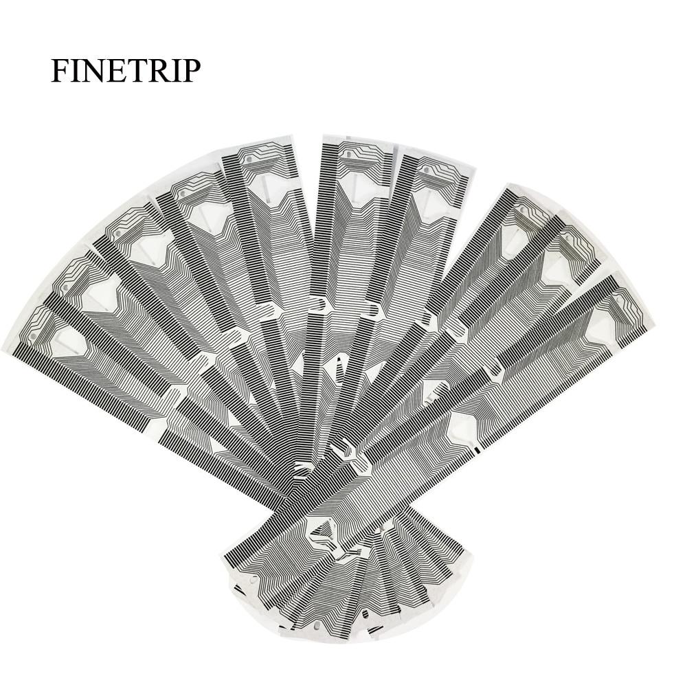 цена на FINETRIP 30% Off 10pcs/lot Instrument Cluster For BMW E39 Dashboard E38 E53 X5 SPEEDOMETER DISPLAY LCD PIXEL REPAIR RIBBON CABLE