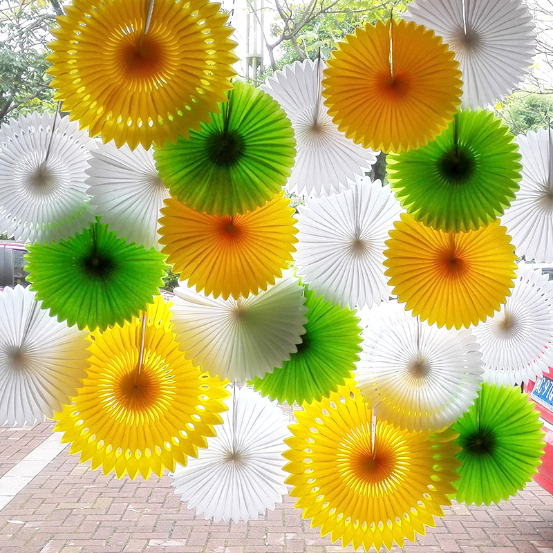 6pcslot 30cm tissue paper fan pinwheels hanging paper flowers 6pcslot 30cm tissue paper fan pinwheels hanging paper flowers wedding decoration baby showers christmas decorations for home mightylinksfo