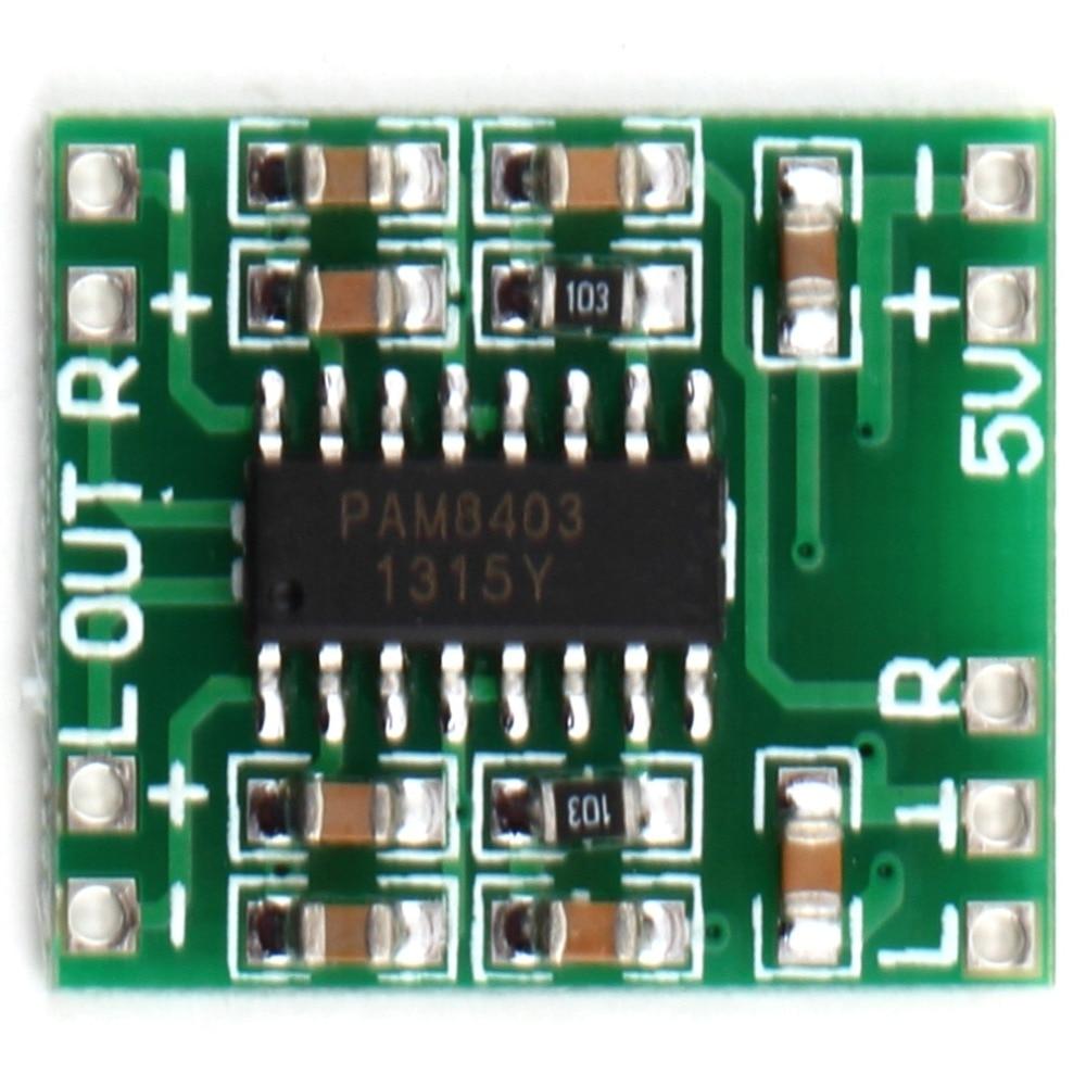 2016 Hot 1pc Dc 5v Mini Classd Digital Amplifier Board Lcd Pam8403 Audio Module Est Eletronic Hot kopen