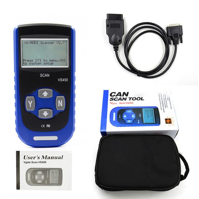 Original Digital OBD2 Diagnostic Scaner Reset Oil Service for VAG Cars Vehicle Code Readers Scan Tools OBD2 Diagnostic Meter