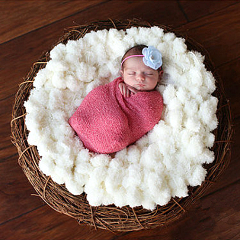 newborn photography blanket Background receiving blanket baby 100 days ball  soft  2 colors  photography propsnewborn photography blanket Background receiving blanket baby 100 days ball  soft  2 colors  photography props