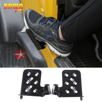 BAWA Exterior Door Panels for Jeep Wrangler TJ 1997 2006 Second Generation Metal Foot Pegs Rest Pedal Accessories