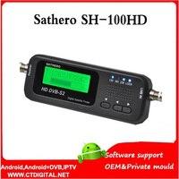sathero sh 100hd Digital Satellite Finder Meter SH 100HD HD DVBS2 USB 2.0 Signal Digital Sat Finder HD SH 200HD free shipping