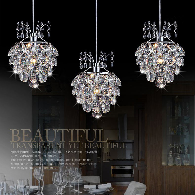 2015 New Arrival Kitchen Crystal Pendant Lamp Dining Room