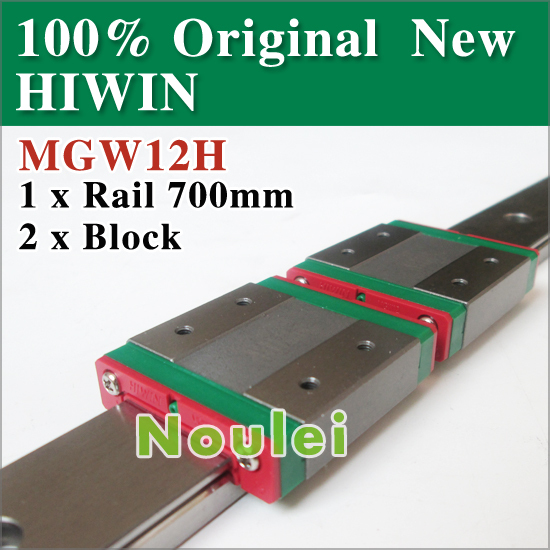 mini cnc parts stainless steel MGW linear rod shaft rail 700mm MGWR12 with 2 pcs MGW12H block MGW12 stainless steel axle sleeve china shen zhen city cnc machine manufacture