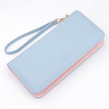 New Ladies Purses Female Brand Wallets Women Long Zipper Purse Woman Wallet Leather Card Holder Clutch Portefeuille femme