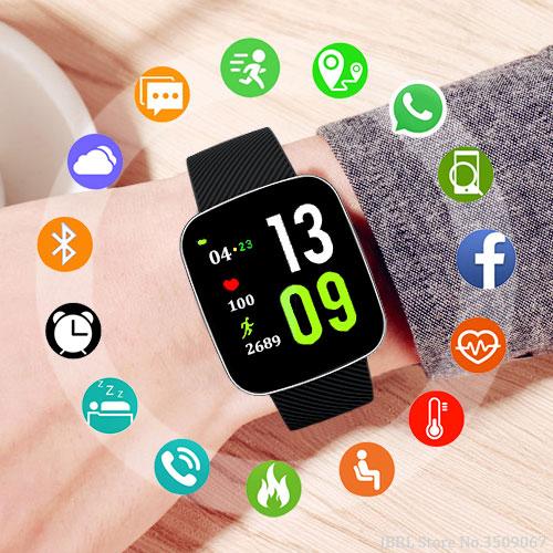 Sport Watch Children Watches Kids For Girls Boys Wrist Watch Electronic LED Digital Wristwatch Child Students Clock Hours
