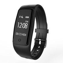 Сердечного ритма Мониторы Смарт Браслет поддержка WhatsApp приложение GPS движение Фитнес трекер шагомер часы для IOS Android Fit Группы