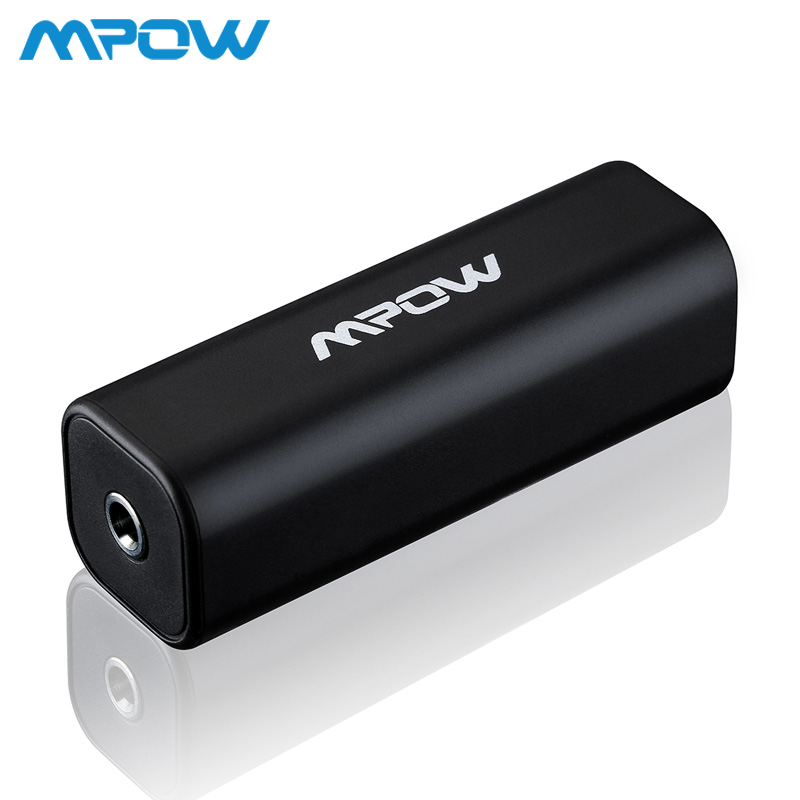 Original Brand Mpow MA1Black Ground Loop Noise Isolator For Car Audio System Home Stereo With 3.5mm Audio Cable Noise Cancelling