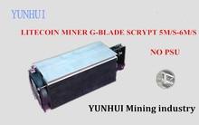 YUNHUI utiliza USB minero minero Gridseed 5.2-6MH/S 80-100 w Litecoin minero (sin fuente de alimentación)
