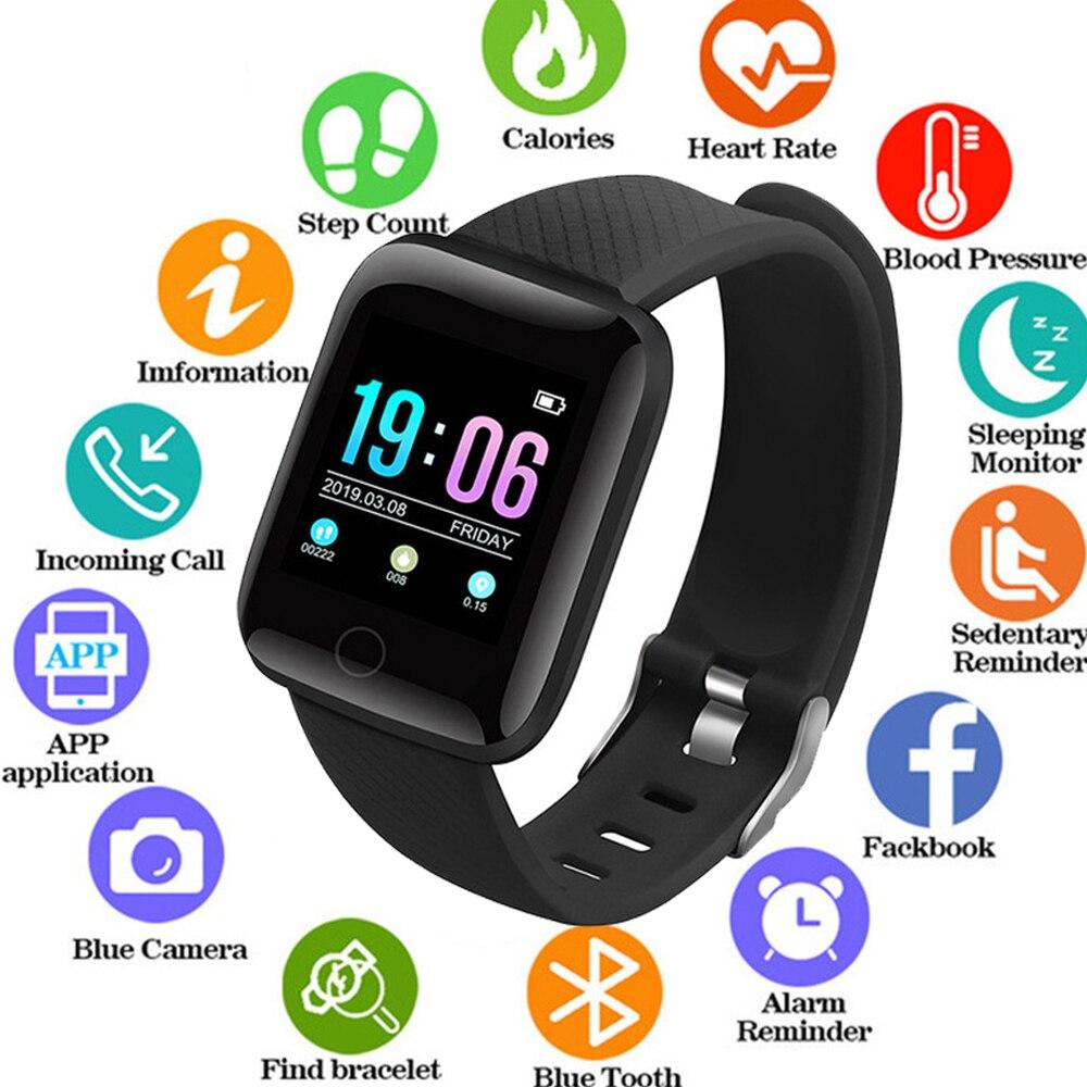 Smart Watch Men Waterproof Sport Fitness Activity Tracker Women Smartwatch Heart Rate Sleep Monitoring Wristband Multi-languag