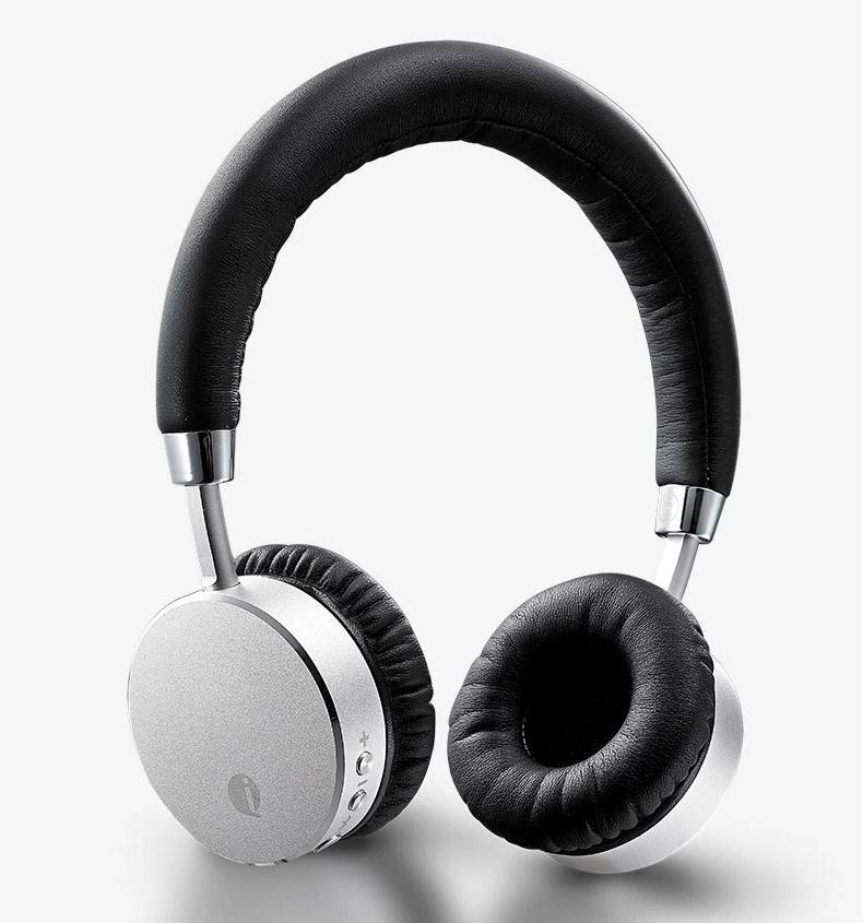 US $65 0 |Metal Aviator Style bluetooth 4 0 headphones wireless stereo  headset with internal microphone free shipping-in Earphones & Headphones  from
