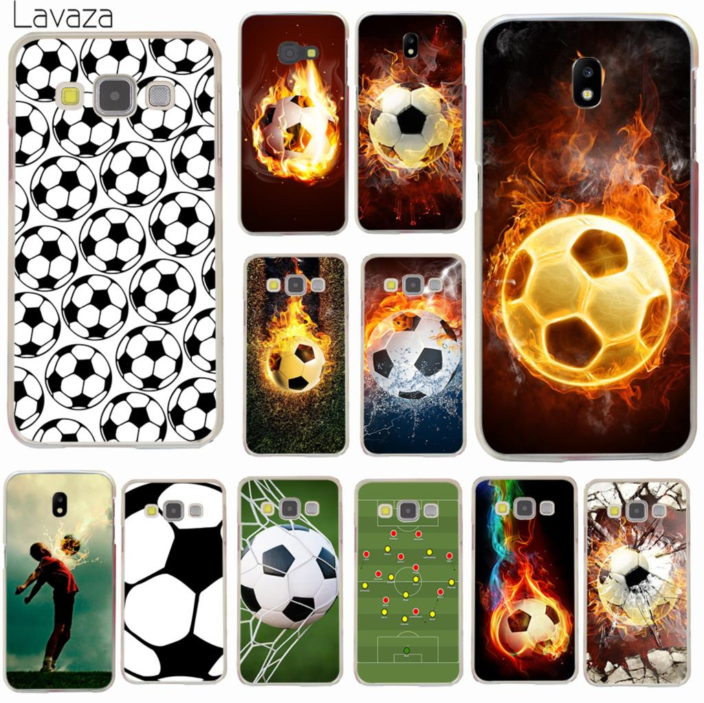 Hospitable Lavaza Fire Football Soccer Ball Hard Phone Case For Samsung Galaxy J6 J3 J1 J2 J5 2015 2016 Prime J7 2017 Eu Us Version Cover Top Watermelons Half-wrapped Case