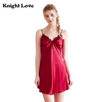 d6526d109e Nuevas mujeres Sexy vestido de noche Noche ropa de dormir ropa interior de  encaje de camisón