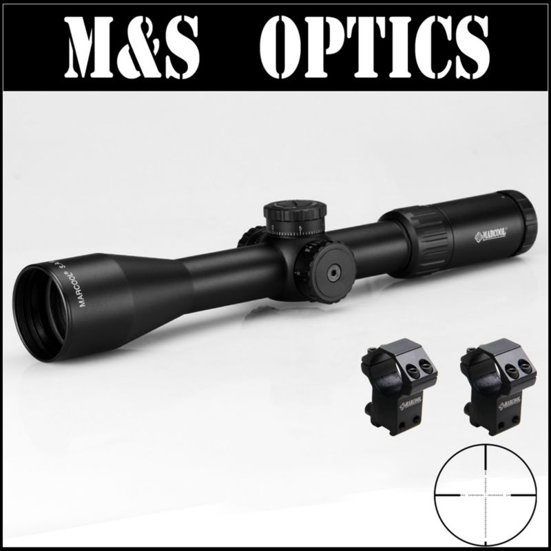 MARCOOL ALT 3.5-10X44 SF Side Focus Airsoftsports Gun Optical Sight Rifle Scope With Riflescopes Rail Ring Mounts For Hunting