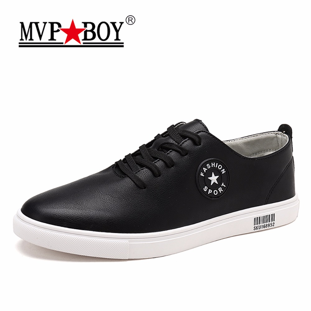 MVP BOY Brand Men Casual Shoes Man Flats Summer Breathable Shoes Mens Fashion Classic Spring Black Mens Leather Shoes for Men  west scarp mens casual shoes man flats spring autumn breathable fashion classic men canvas shoes brand outdoor zapatos hombre