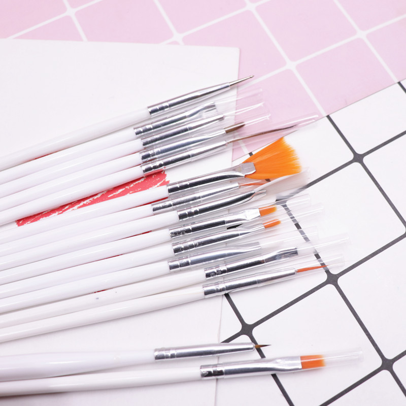 15pcs/lot Clay Ceramic Pottery Plastilina Model Painting Eye Hook Line Pen Clay Doll Makeup Color Sweeping Brush Clay Tools