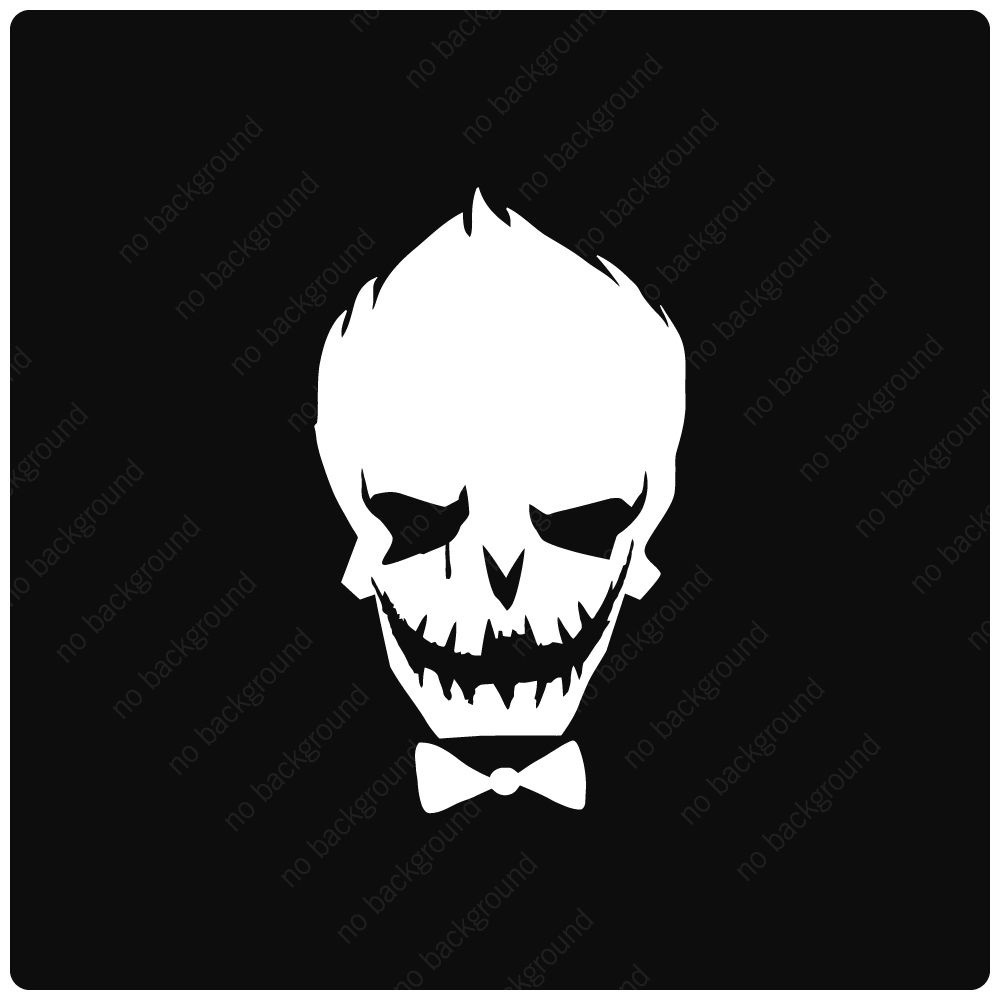 Joker Vinyl Decal Sticker Funny Suicide Squad Batman Comic Harley Quinn Anime