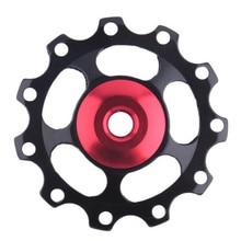 11 передач направляющий шкив колеса Задний переключатель шкив велосипед Велоспорт Открытый Портативный прочный подшипник спортивные аксессуары для велосипеда