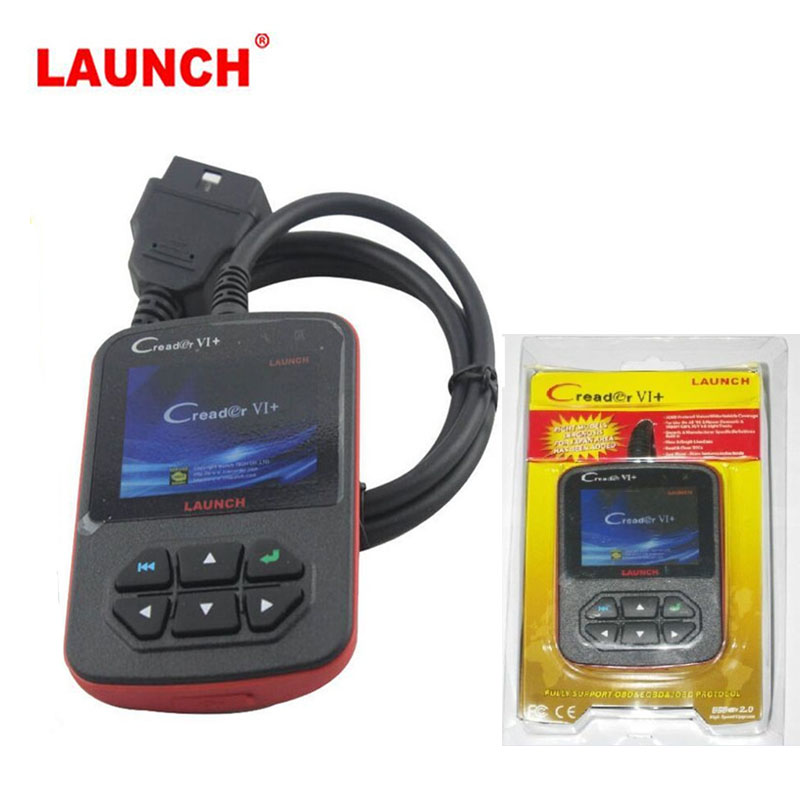 Orignal LAUNCH X431 CReader VI OBD2 Fault Code Reader Auto Diagnostic Scanner