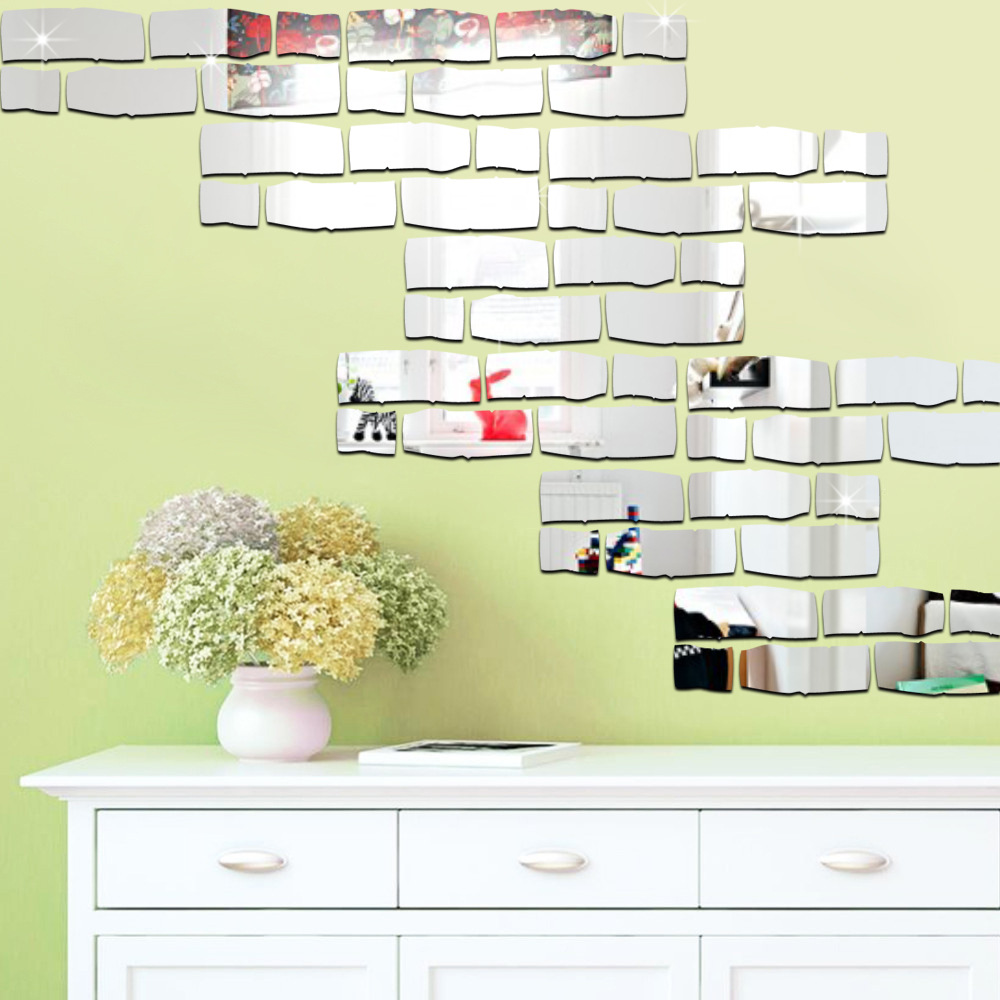 DIY Wall Decoration Brick Wallpaper Wall Sticker Waterproof Kitchen ...