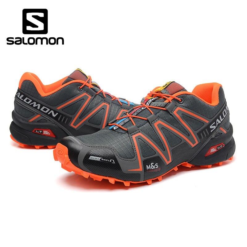 2018 Nouveau Salomon Speed Cross 3 CS III Sports de Plein Air Chaussures Speed Cross Foncé bleu apple vert Hommes de Sneakers EUR 40-46
