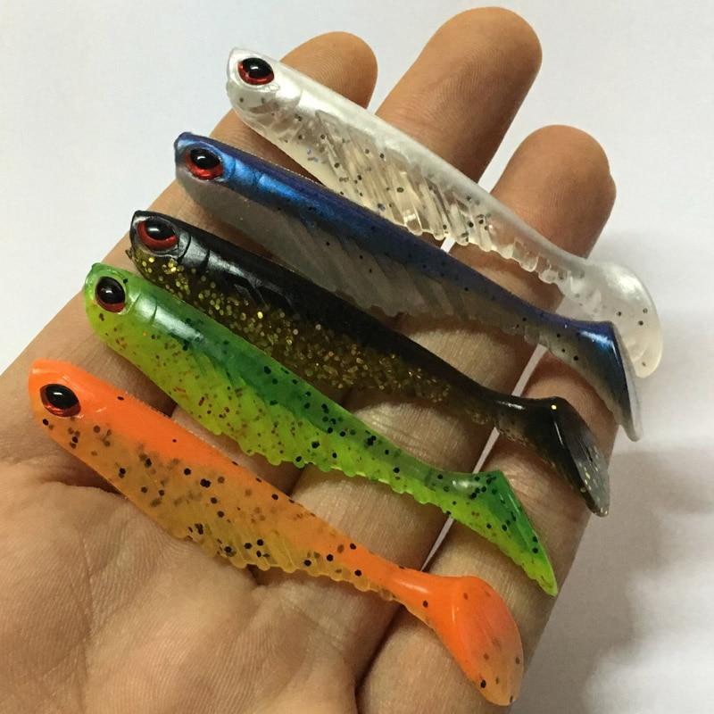 Г 1 шт. Новый живой червь мягкие приманки 7 см 2,8 г искусственные Рыбалка воблер Карп Снасти Шад силиконовые