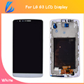 LL TRADER White/Black 100% Tested Touch Screen Replacement For LG G3 D850 D851 D855 LCD Display Digitizer Assembly Wtih Frame